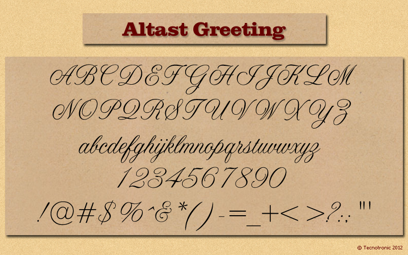 Whatthefont forum myfonts altast greeting m4hsunfo Image collections